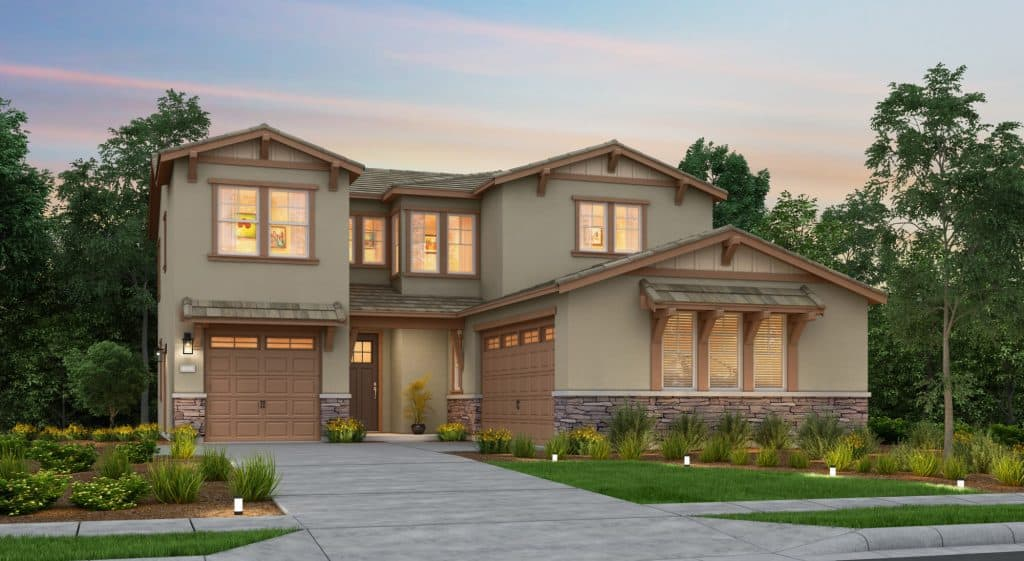 The Monaco move in ready home at Crystal Cove at River Islands in Lathrop, California by Tim Lewis Communities